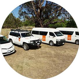 Australian Natural Treasures Touring Vehicles