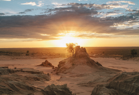 Lake mungo tour